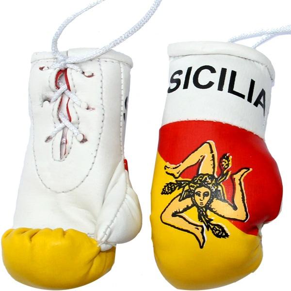 Sicilia Mini Boxing Gloves  (guantoni da boxe=Boxing gloves)