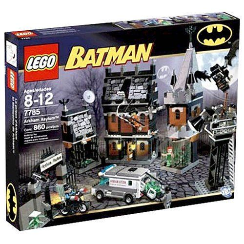 Lego batman arkham asylum old set includes Batman, Nightwing (exclusive) scarecrow, poison ivy and more