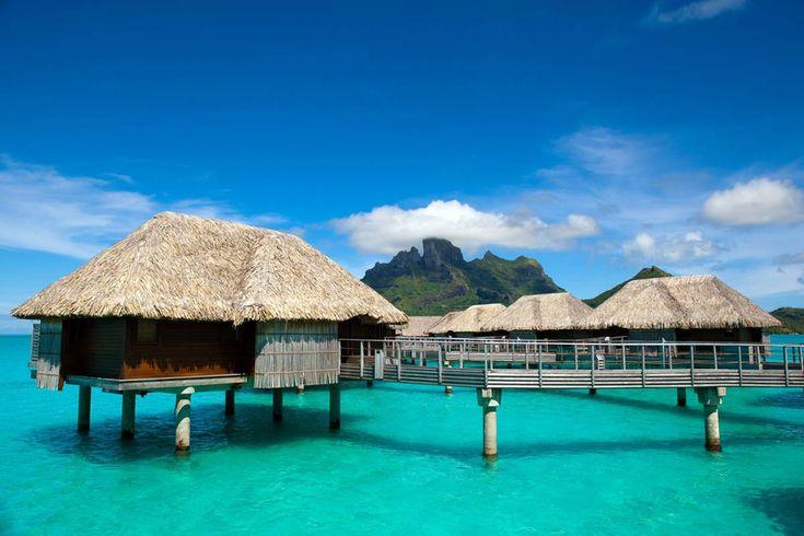 imágenes de cinco destinos de celebrities para tu luna de miel: Bora Bora