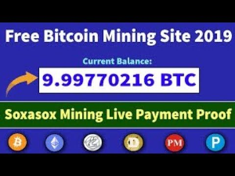 2) Trusted Cloud Mining 2019 NEW HIGH PAYING BITCOIN EARNING