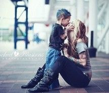 Inspiring picture boy, child, kids, love, mother. I want a pic like this with my boys before they don't want to kiss me anymore...