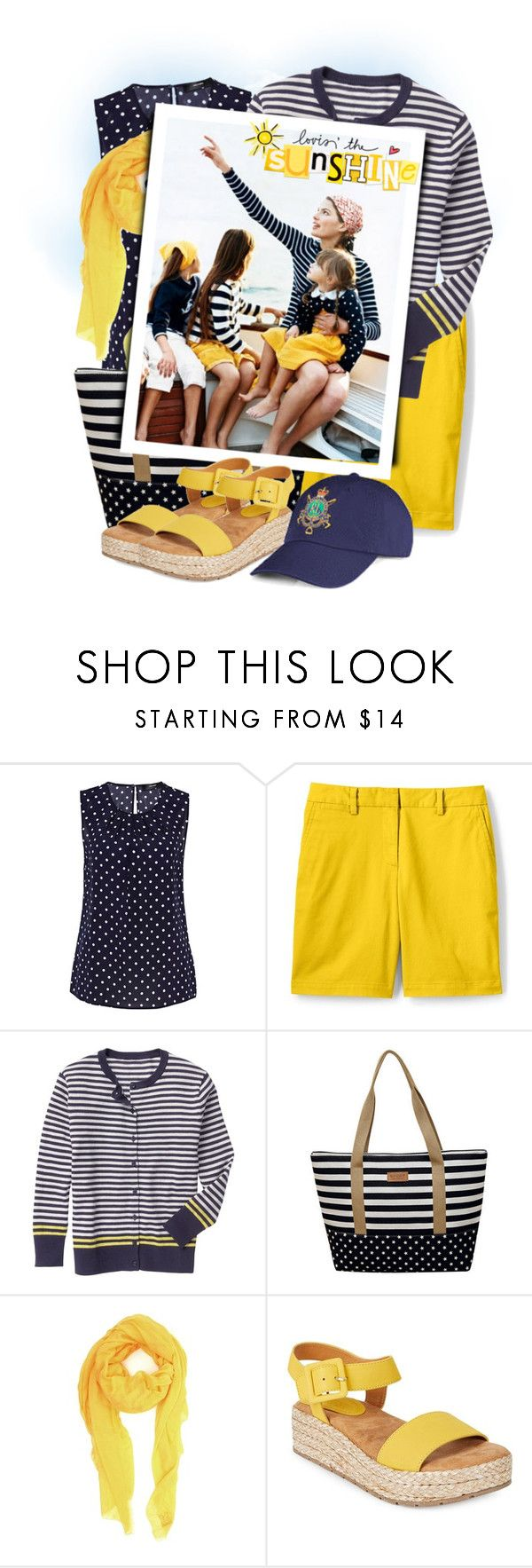 """Women's  Chino Shorts"" by tasha1973 ❤ liked on Polyvore featuring Hallhuber, Lands' End, Gap, M Missoni and Kenneth Cole Reaction"