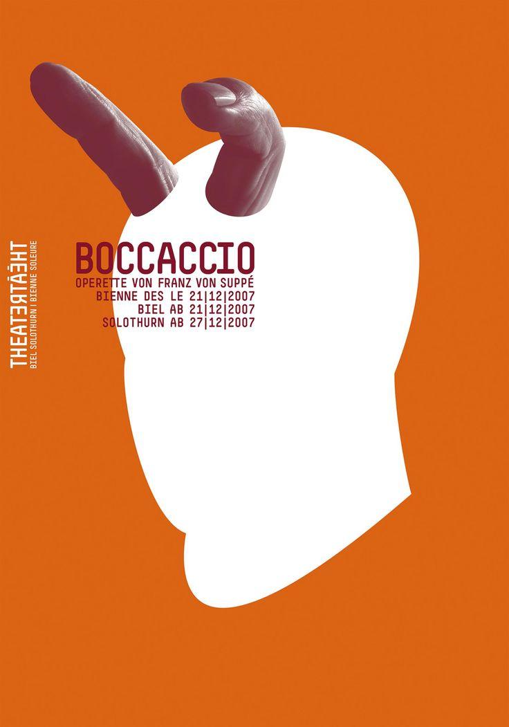 Theatre poster | design by Stephan Bundi