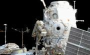Extended Russian EVA complete – conducts satellite deployments