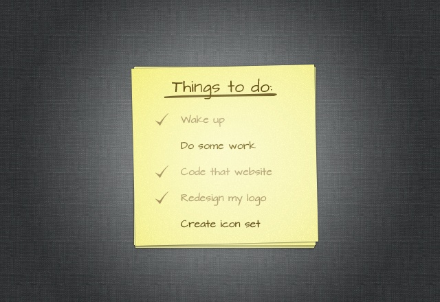3 Free To-do List Designs