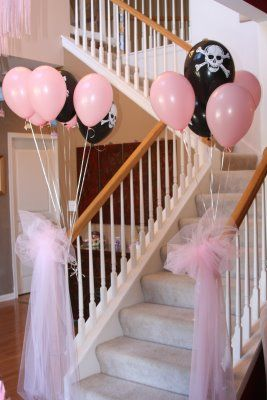 Micayla, you could do this one year for an R & X combined birthday parth theme. princess & pirate party