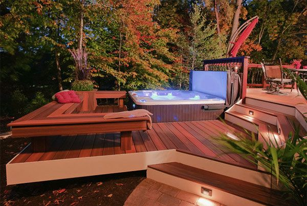 1000 ideas about small patio design on pinterest small for Backyard deck designs pictures