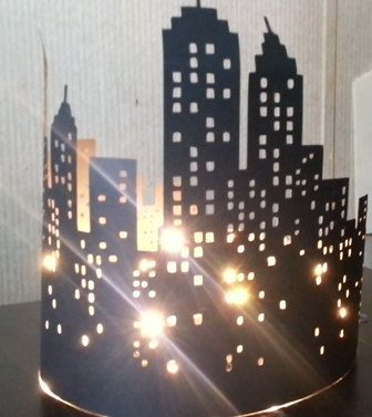 Extra large New York skyline silhouette by hilemanhouse on Etsy, $14.95