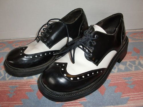 Men's Bostonian Brown Brogue Oxford Footsaver Dress Shoes Size 11.5 11 1/2 D B