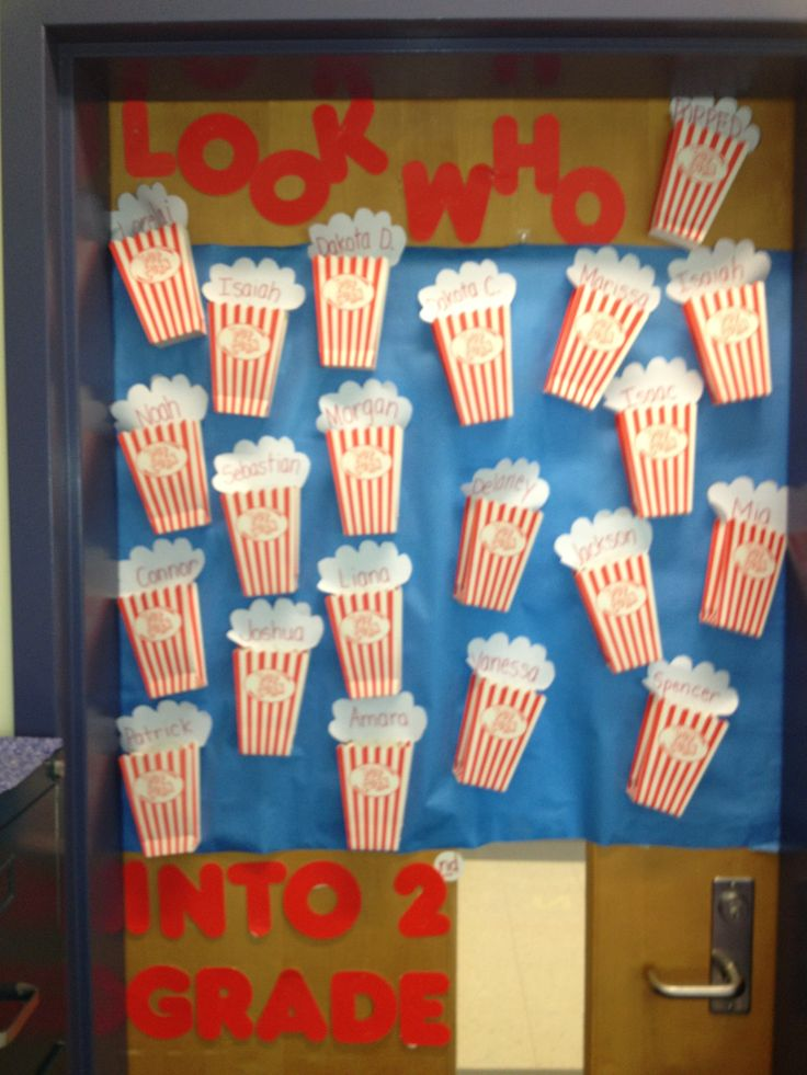 Amazing Welcome Back To School Bulletin Board Or Door Decoration, Who Popped Into  School? | School | Pinterest | Bulletin Board, School And Board