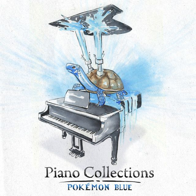 Piano Collections: Pokémon Red/Blue/Yellow/Green now available! The entire OST of 1st gen in one album!