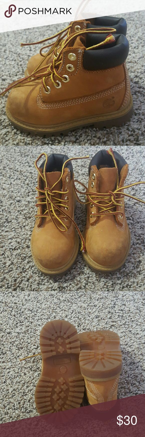 Timberland for toddler size 6.5 Wore them once in great condition Timberland Shoes Boots