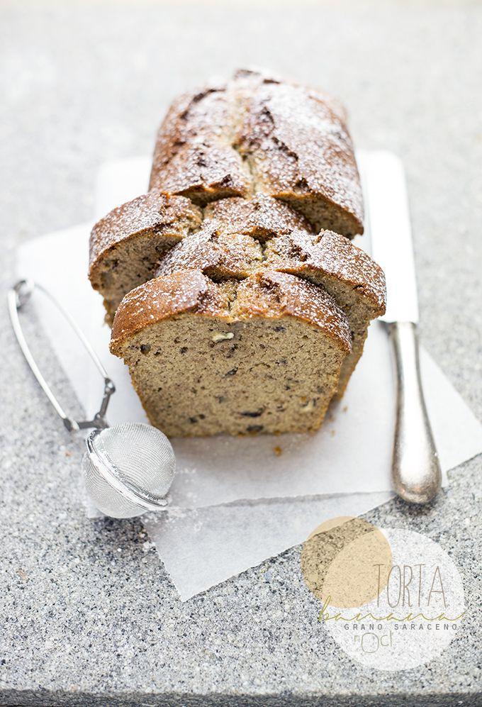 ... buckwheat banana bread with nuts ...