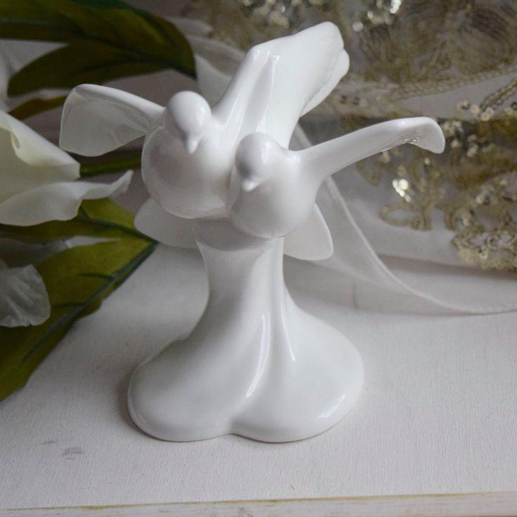 "Boxed Royal Doulton White ""Always and Forever"" Fine Bone China Figurine Doves 1992, Christmas Gift, wedding gift, housewarming, engagement by BitsnBobsnKeepsakes on Etsy"