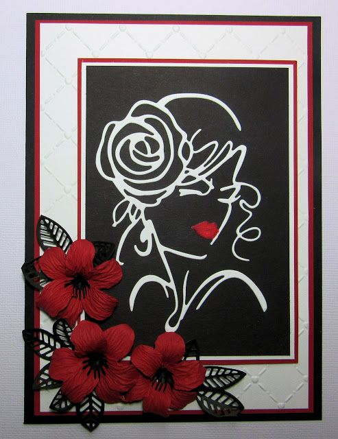 Image result for cards made using Dee's Distinctively Bella die