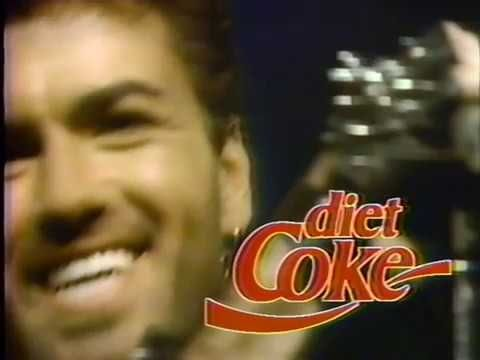 George Michael Diet Coke commercial 1989 better quality (Rare Video) - YouTube