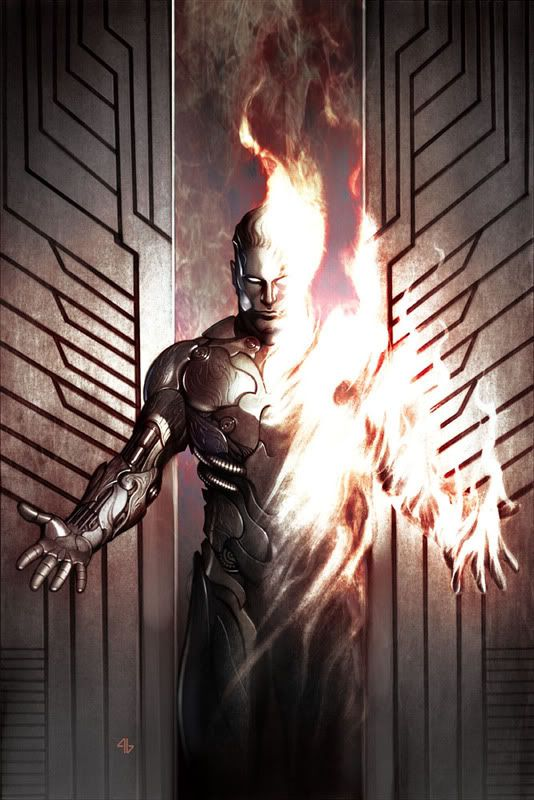 Jim Hammond is too epic for words The Original Human Torch - Adi Granov
