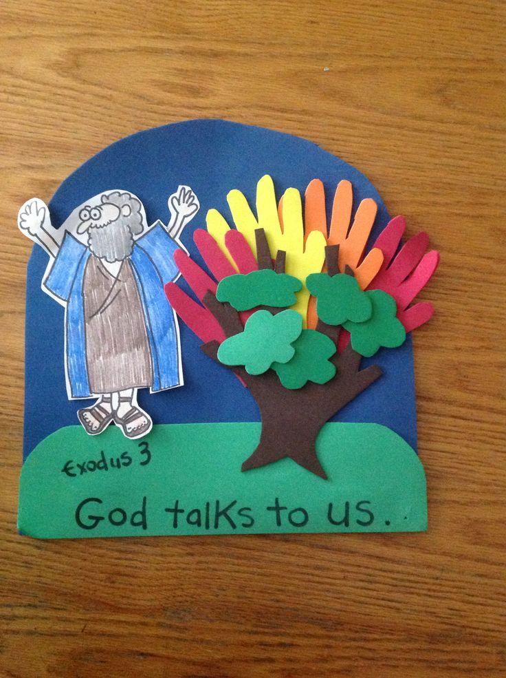 17 best images about moses on pinterest the burning for Bible story crafts for kids