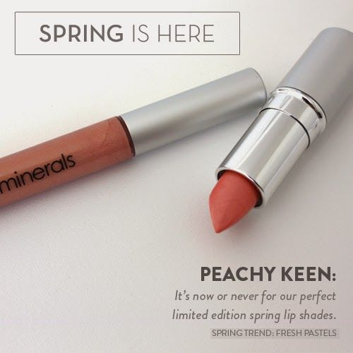 Product Spotlight: Peachy Keen Color via @glo minerals
