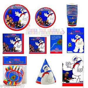 GHOSTBUSTERS Movie Birthday Party Supplies ~ Pick one or many to create set!