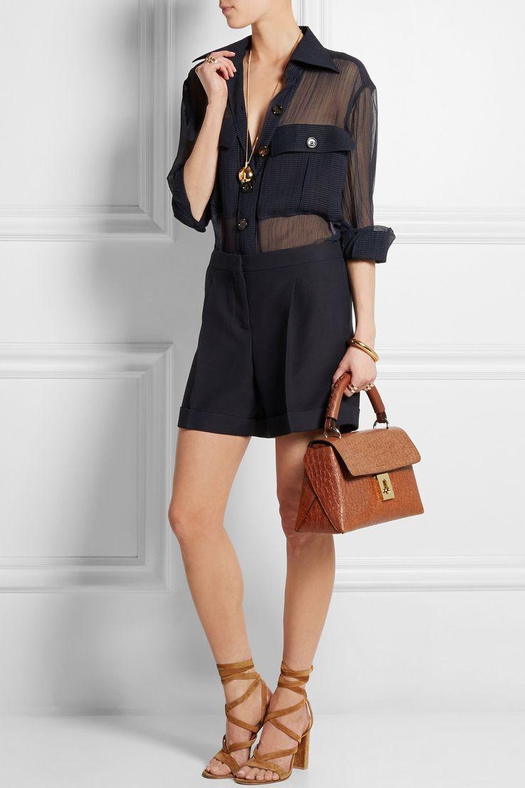 best hand bags - chloe leather shoulder bag, chloe shopping online