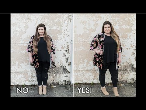 3 POSING TIPS FOR PHOTOGRAPHING PLUS SIZE MODELS with Skillshare