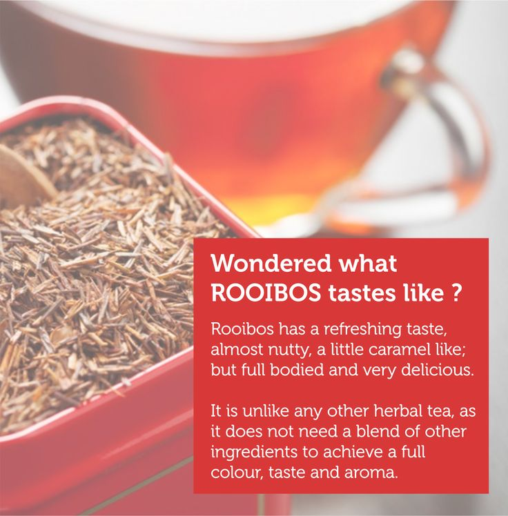 Wonder how this unusual red rooibos tea tasted like? It's worth every shot. Place your order here http://teacultureoftheworld.com/index.php/rooibus-303.html