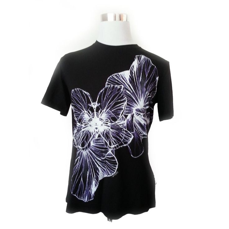 #ebay  sale men fashion Just Cavalli Men Size M Black Graphic Tee Floral Print T-shirt NWT withing our EBAY store at  http://stores.ebay.com/esquirestore