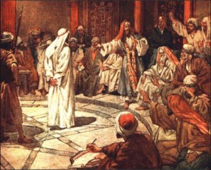 Resultado de imagem para painting of stephen in the sanhedrin