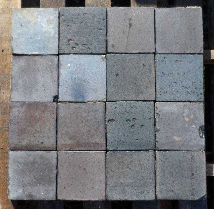 blue black quarry tiles 6in x 6in