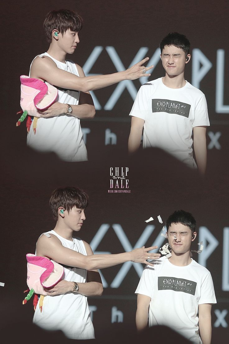 Chanyeol stop messing with D.O he's going to punch you