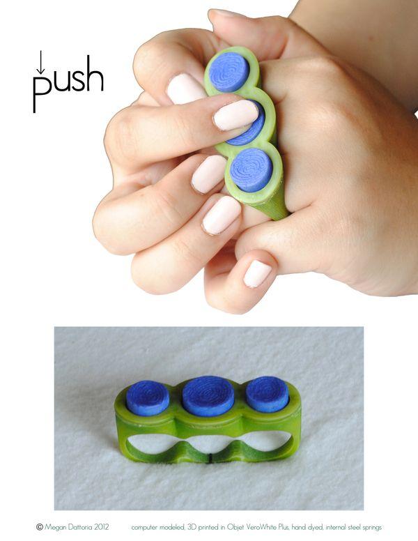 Fidget Rings Toys Adhd
