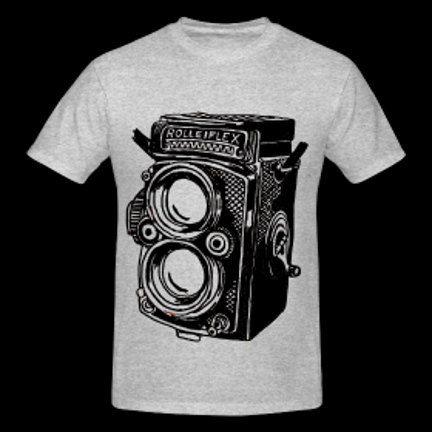 Rollieflex Camera T shirt