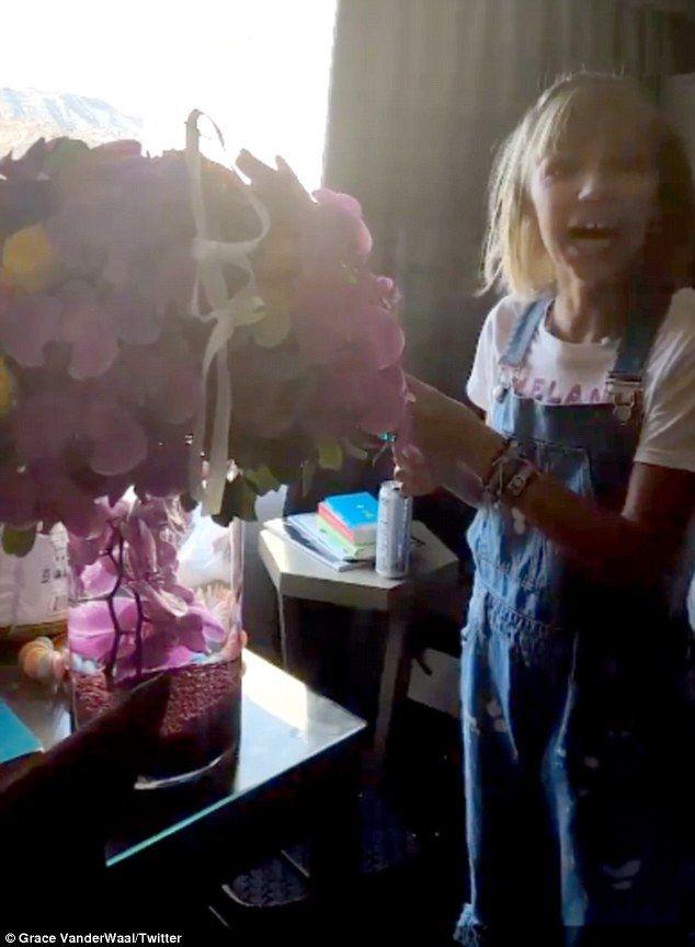 Taylor Swift presents AGT winner Grace VanderWaal with surprise gift