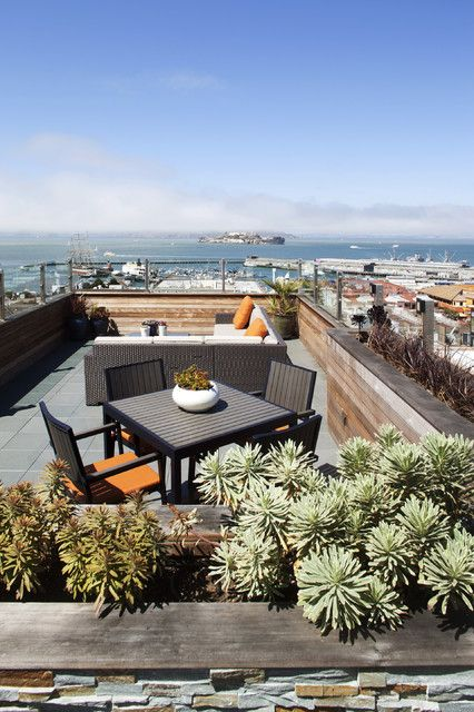 Out Door Seating - contemporary - patio - san francisco - Gast Architects