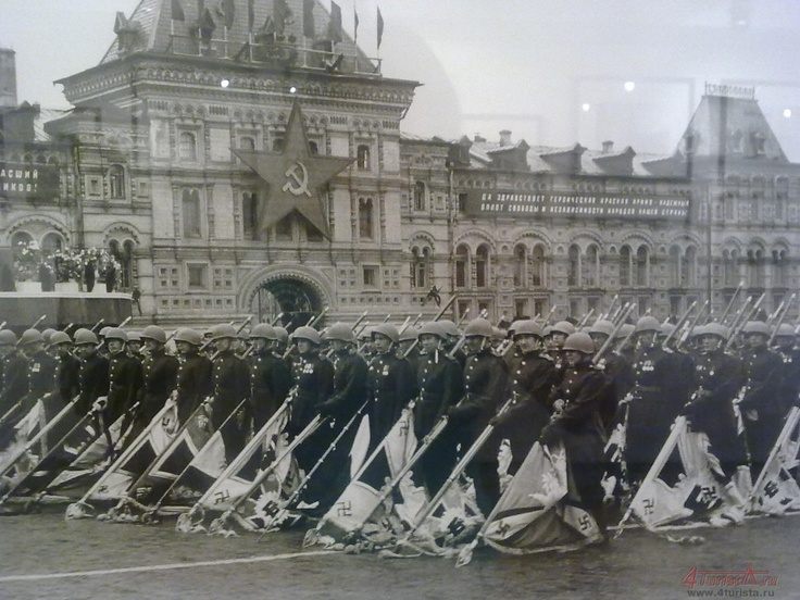 1945, The Victory parade. It was held on the 24th of June.