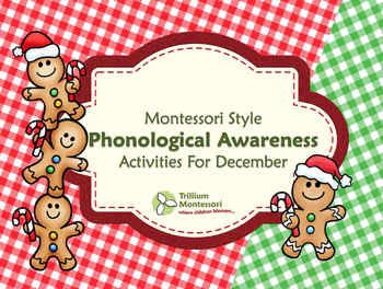 December Phonological Awareness Activities Pack {$1 until