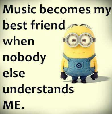 Music is the essence of my soul