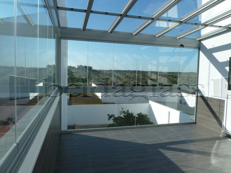 Mejores 10 im genes de terrazas de cristal en pinterest - Cristales para terrazas ...