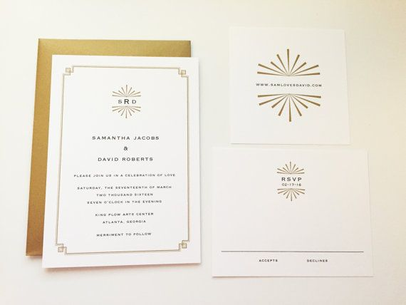 Best 25+ Deco Wedding Stationery Ideas On Pinterest | Art Deco Wedding  Stationery, Deco Wedding Invitations And Deco Invitation Ideas