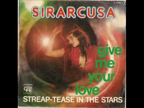 SIRARCUSA - Streap-tease in the stars SPANISH SPACE·DISCO·FUNK