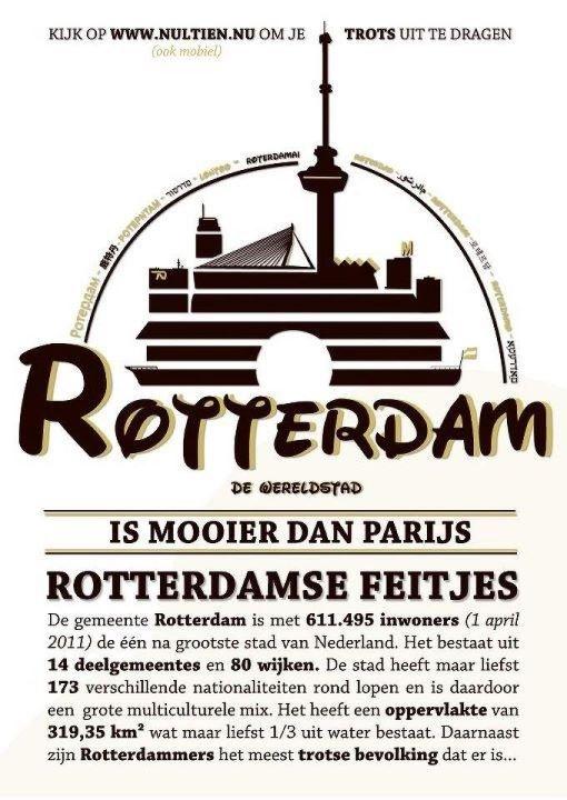 Rotterdam (Nederlands is niet helemaal correct, maar tis wel mijn stadje)