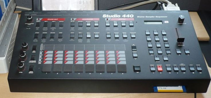 Sequential's Studio 440, The 12Bit Sampler Was Launched +/- 1986 And Used By…