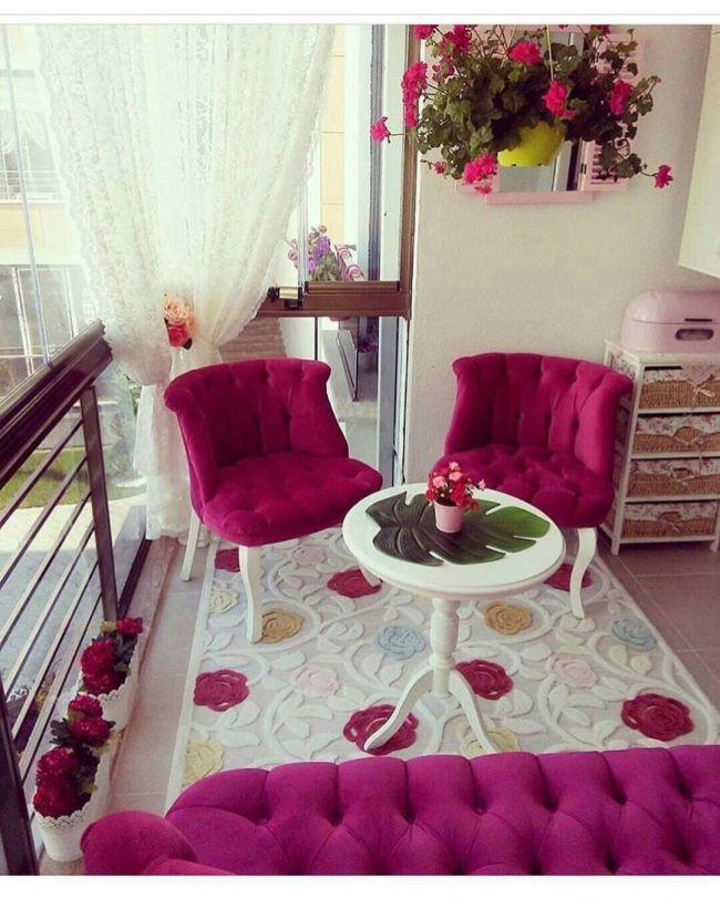 77 Praktische Balkon Designs: Decoración Hogar