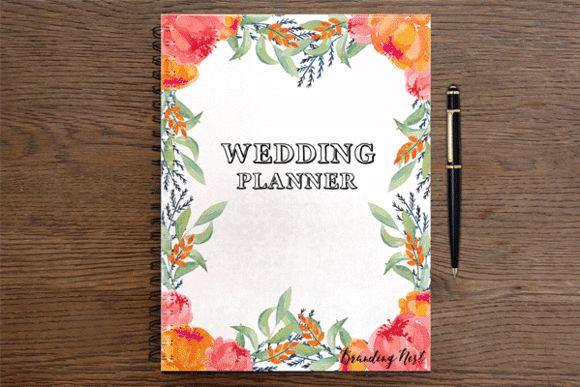 Wedding Planner by Branding Nest on @creativemarket