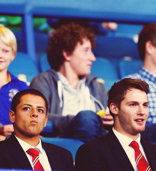 Chicharito | Nick Powell | Manchester United
