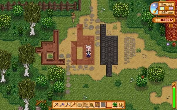 Just some new paths you know  | Resources: Stardew Valley Mods