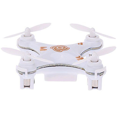 "Mini Drone Quadcopter Micro Nano Size - RC Helicopter X-10A by KiiToys® - Headless Mode, 3D Flip, 6 Axis Gyro, 4 Channels Radio Control, ""Smallest Quad Copter in the world"" with USA Warranty (White)     Tag a friend who would love this!     FREE Shipping Worldwide     Buy one here…"