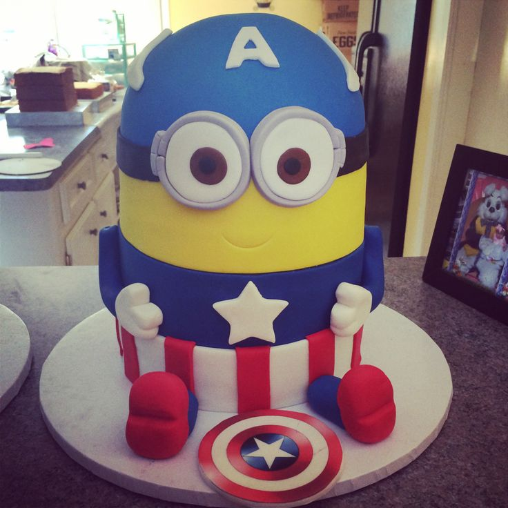 880 Best Despicable Me Cakes Images On Pinterest Cakes