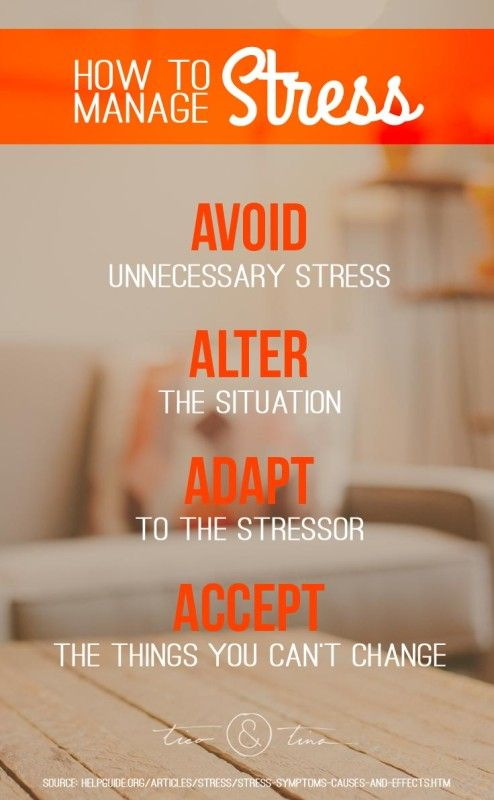 25+ best ideas about Ways to manage stress on Pinterest | Stress ...